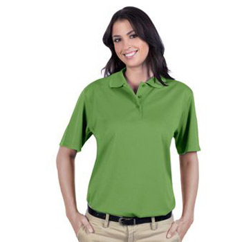 OTTO 5.0 oz. Cool Comfort Polyester Cool Mesh Ladies' Performance Sport Shirt