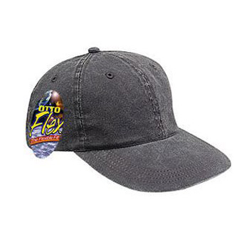 OTTO Garment Washed Pigment Dyed Stretchable Cotton Twill OTTO FLEX Six Panel Low Profile Baseball Cap