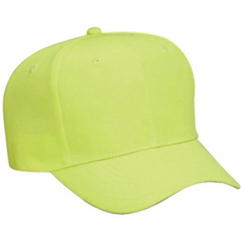 Otto Neon Deluxe Polyester Twill Pro Style Caps