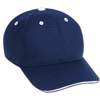Otto Polyester Pro Mesh Sandwich Visor Low Profile Style Caps