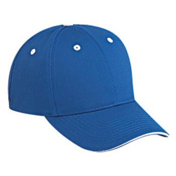 Otto Cotton Twill Sandwich Visor Low Profile Style Caps