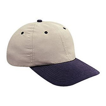 baed4167b7a Otto Brushed Cotton Twill Soft Visor Low Profile Style Caps