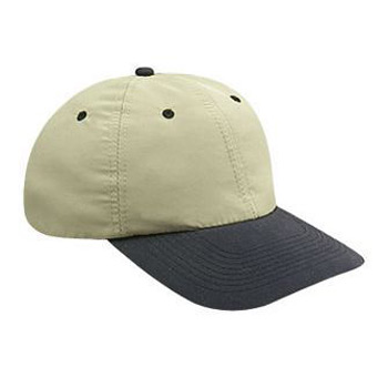 Otto Polyester Microfiber Soft Visor Low Profile Style Caps