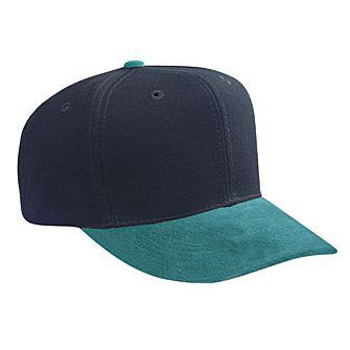 Otto Suede Visor Wool Blend Pro Style Caps