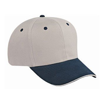 Otto Brushed Cotton Twill Sandwich Visor Pro Style Caps