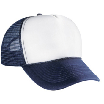 Otto Polyester Foam Front Five Panel Pro Style Mesh Back Caps