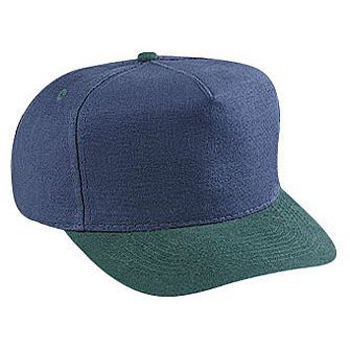 Otto Washed Brushed Heavy Cotton Canvas Low Crown Golf Style Caps