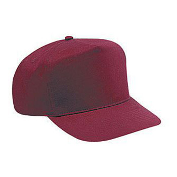OTTO Brushed Cotton Twill High Crown Golf Style Cap