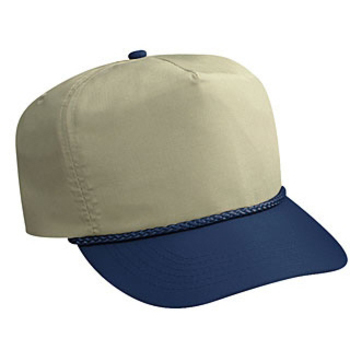 Otto Deluxe Poplin High Crown Golf Style Caps