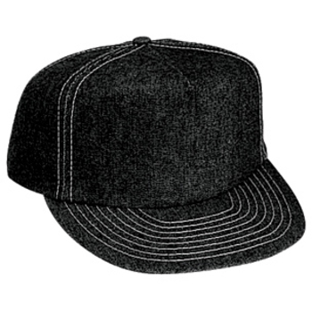 Otto Denim High Crown Golf Style Caps
