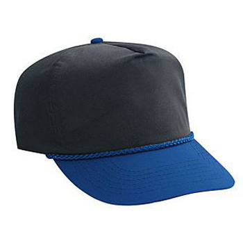 Otto Poplin High Crown Golf Style Caps