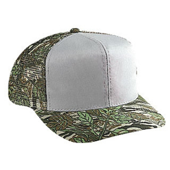 Otto Camouflage Cotton Twill Pro Style Mesh Back Caps