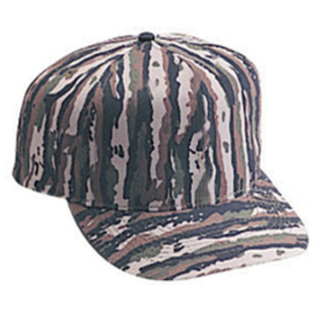 Otto Camouflage Cotton Twill Low Crown Golf Style Caps