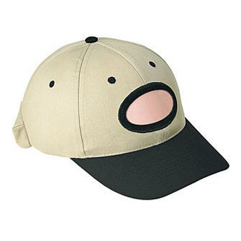 Otto Brushed Cotton Twill Illuminated Frame Caps Lights Low Profile Style Caps Oval