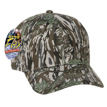Otto Flex Stretchable Camouflage Cotton Twill Low Profile Style Caps