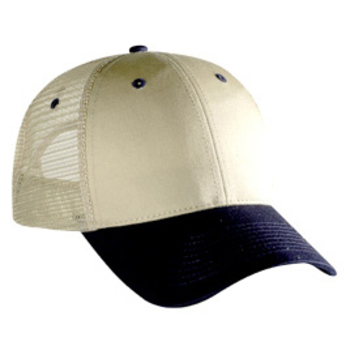 Otto Cotton Twill Low Profile Style Mesh Back Caps