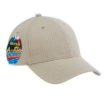 Otto A-Flex Stretchable Polyester Pro Mesh Low Profile Style Caps