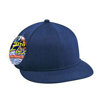 Otto Flex Stretchable Wool Blend Flat Visor Pro Style Caps