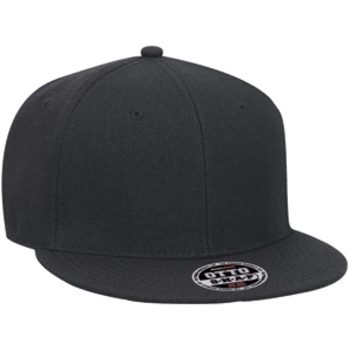 Otto Promo Alternative Wool Blend Flat Visor Pro Style Snapback Caps