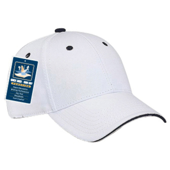 Otto Cool Comfort Superior Cotton Twill Sandwich Visor Low Profile Style Caps