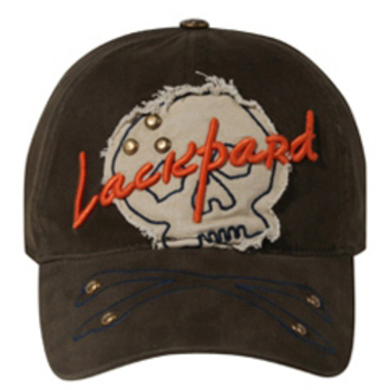 Otto Lackpard Flex 3D Lackpard Distressed Skull Patch Caps