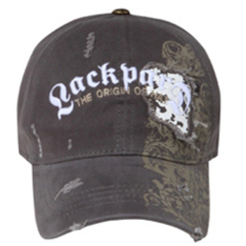 Otto Lackpard Flex Lackpard Distressed Patch On Screen Print Caps