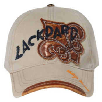 Otto Leather Patches Lackpard Caps