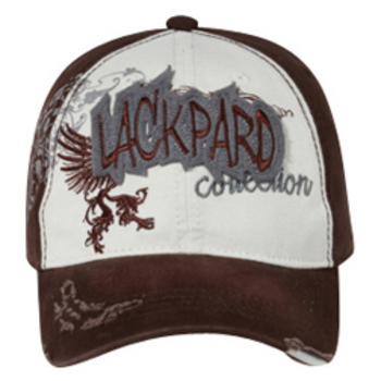 Otto Lackpard Applique Caps