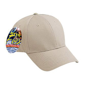 Otto Flex Stretchable Brushed Cotton Twill Low Profile Style Caps