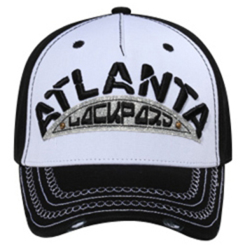 Otto Atlanta Lackpard On Glitter Patch With Studs Caps