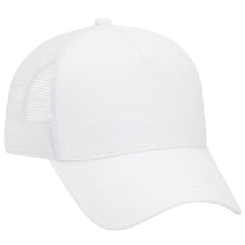 Otto Jersey Knit Five Panel Pro Style Mesh Back Caps