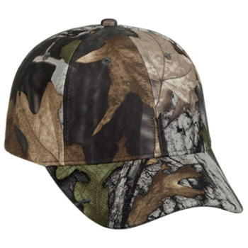 Otto Camouflage Polyester Low Profile Style Caps