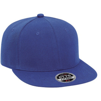 Otto Fit Wool Blend Flat Visor Fitted Pro Style Caps