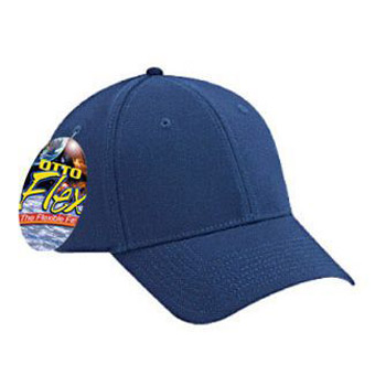 OTTO Brushed Stretchable Bull Denim OTTO FLEX Six Panel Low Profile Baseball Cap