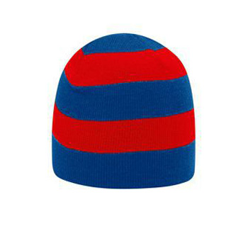 Otto Acrylic Knit Striped Beanies 8