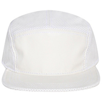Otto Solid Front Mesh Crown And Visor Trim Camper Style Caps