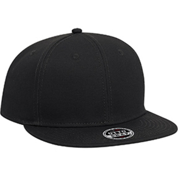 Otto Youth Superior Cotton Twill Flat Visor Pro Style Snapback Caps