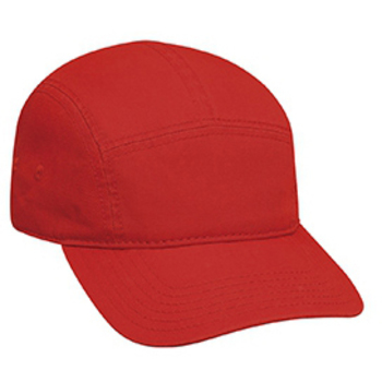 Otto Superior Garment Washed Cotton Twill Five Panel Camper Style Caps