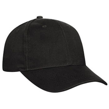 Otto Promo Brushed Bull Denim Low Profile Style Caps