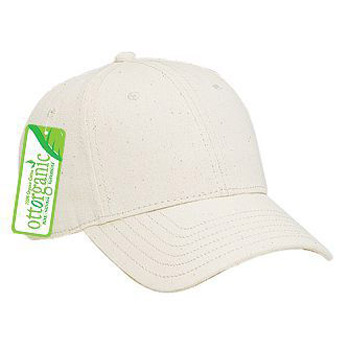 OTTO Organic Cotton Twill Low Profile Baseball Cap