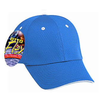Otto Flex Stretchable Cotton Pro Mesh Sandwich Visor Low Profile Style Caps