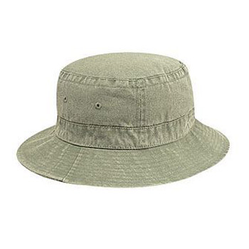 OTTO Garment Washed Pigment Dyed Cotton Twill Bucket Hat