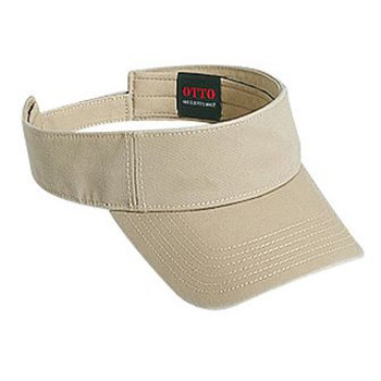 OTTO Garment Washed Superior Cotton Twill Sun Visor