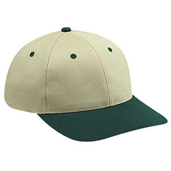 Otto Brushed Cotton Twill Low Profile Style Caps